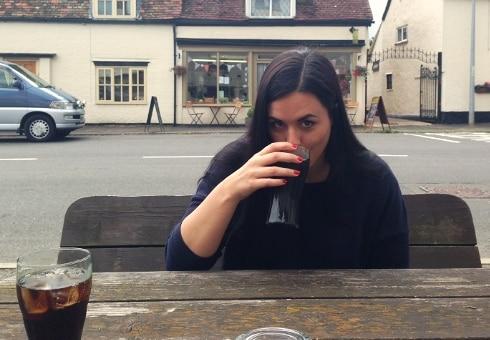 The George pub Spaldwick Jo Yum Dim Sum