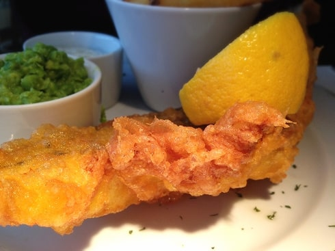 fish chips The George Spaldwick
