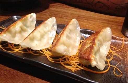 Japanese gyoza Sushiya Edinburgh