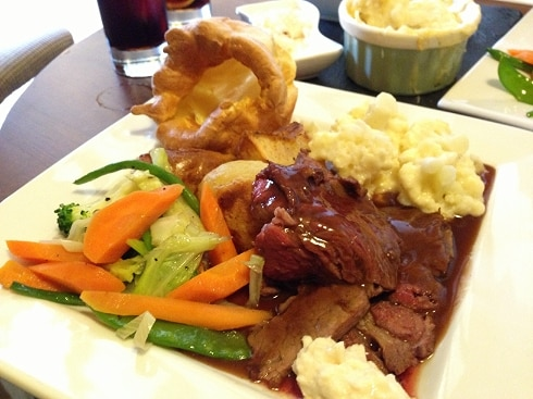 Sunday roast Milton Keynes Cross Keys pub