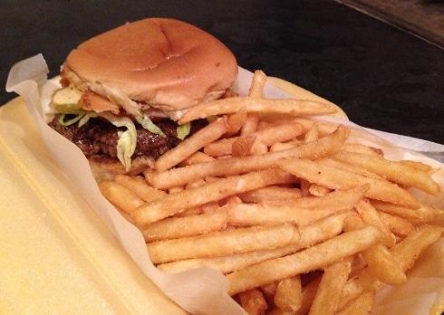 Lone Star Grill BBQ Milton Keynes LSG burger fries