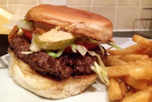 Lone Star Grill BBQ Milton Keynes LSG burger