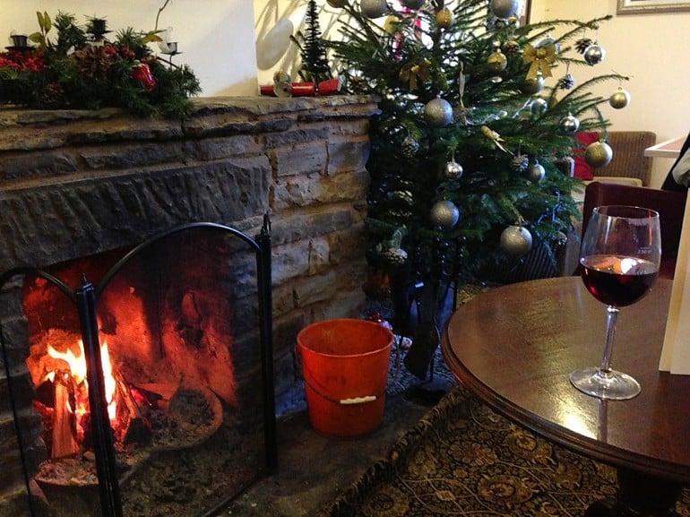 Castle Inn Wigmore restaurant review