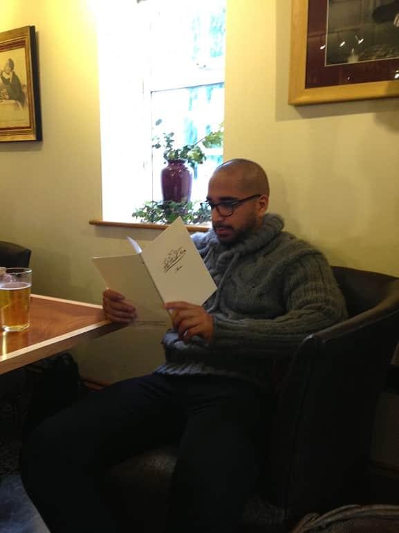 Castle Inn Wigmore restaurant review Mr YumDimSum