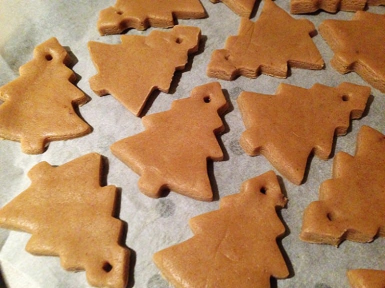 Christmas tree biscuits gingerbread recipe cookie cut outs