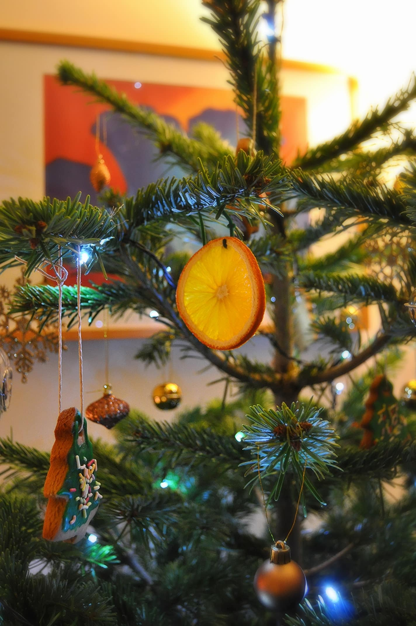 Christmas tree gingerbread decoration recipe orange decorations