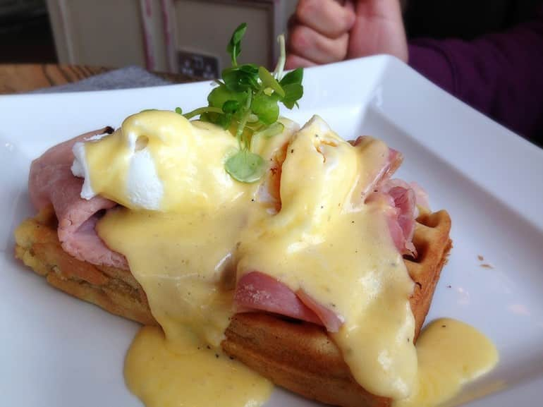 Missoula Milton Keynes breakfast eggs benedict