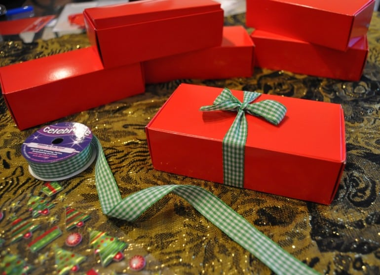 Truffle recipe Christmas gift boxes