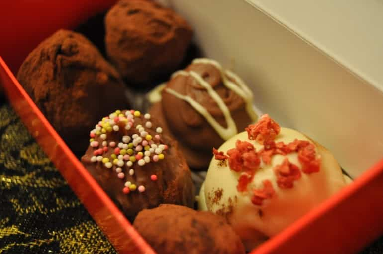 Truffle recipe home made gift idea