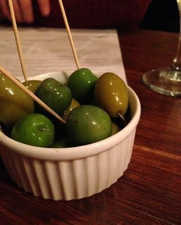 Black Horse Woburn review olives
