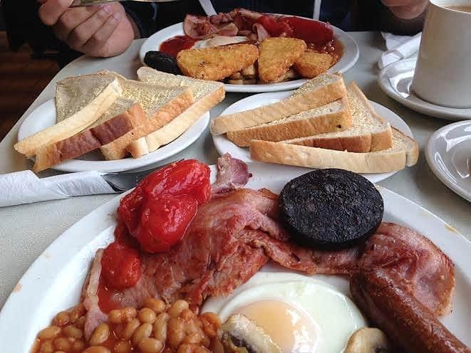 Breakfast Mister Teas Bletchley Milton Keynes