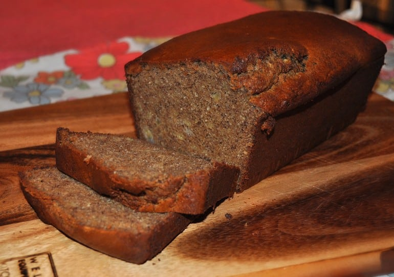 Low carb banana bread healthy paleo recipe