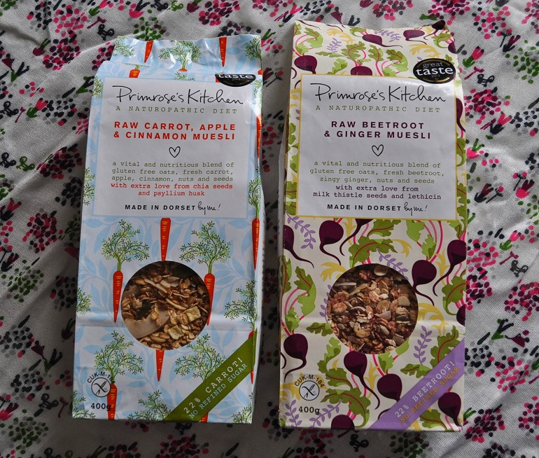 Primroses Kitchen vegetable muesli review