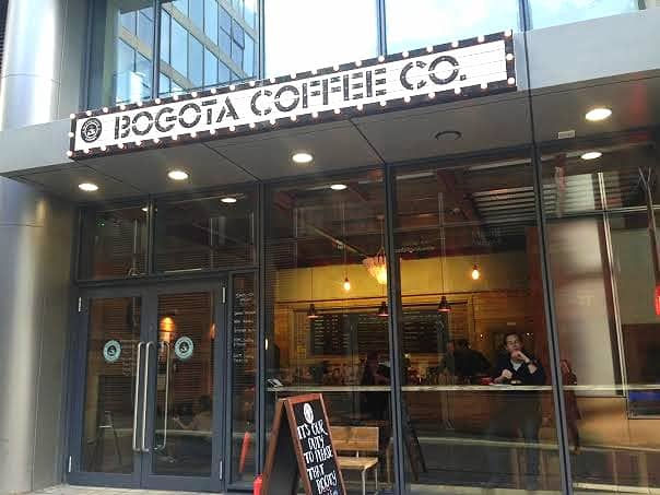 Bogota Coffee The Hub Milton Keynes Review coffee house