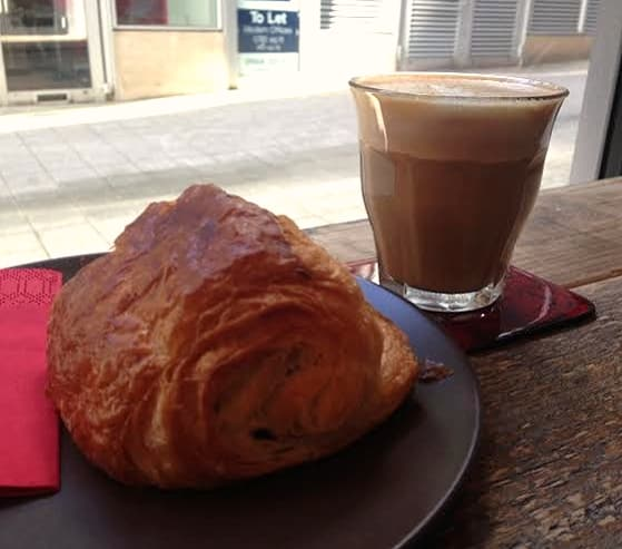 Bogota Coffee The Hub Milton Keynes Review flat white pastry