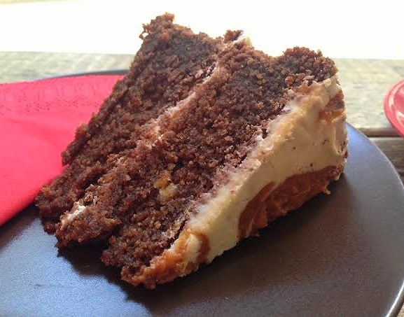 Bogota Coffee The Hub Milton Keynes Review salted caramel cake