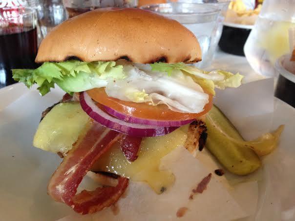 Byron Burger Milton Keynes review Byron cheeseburger