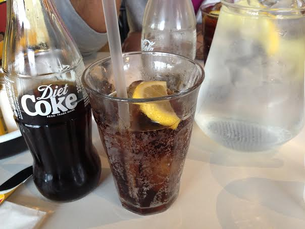 Byron Burger Milton Keynes review coke