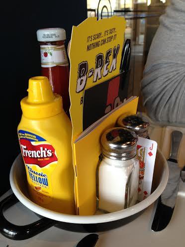 Byron Burger Milton Keynes review condiments