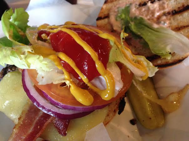 Byron Burger Milton Keynes review ketchup mustard