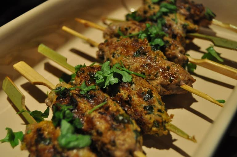 Lamb kofta recipe mint yoghurt parsley