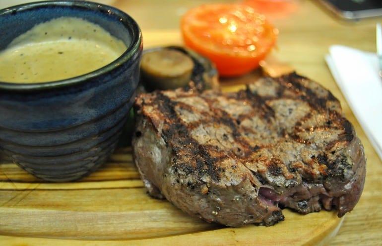 Middletons Steakhouse Milton Keynes fillet steak