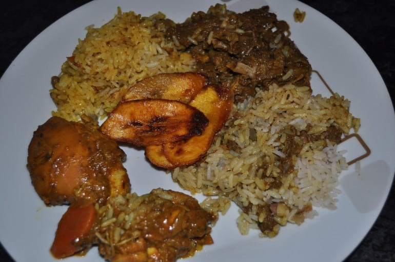 Sonnys Jamaican takeaway Milton Keynes curry goat curry chicken