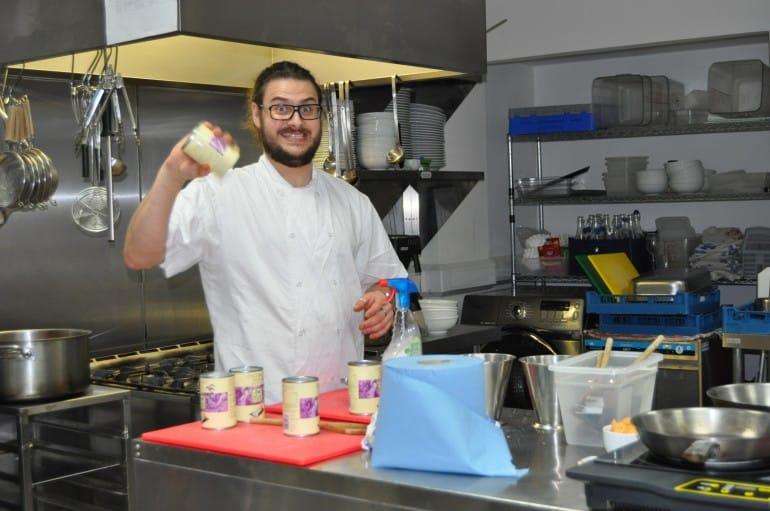 Underground Cookery School London chef