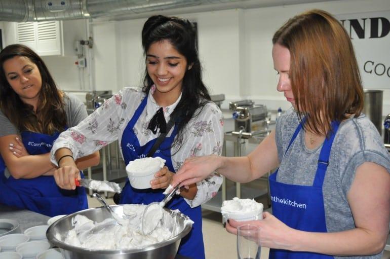 Underground cookery school london bloggers