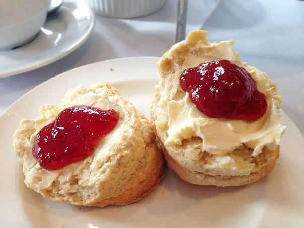 Burford House Hotel afternoon tea scones cream jam