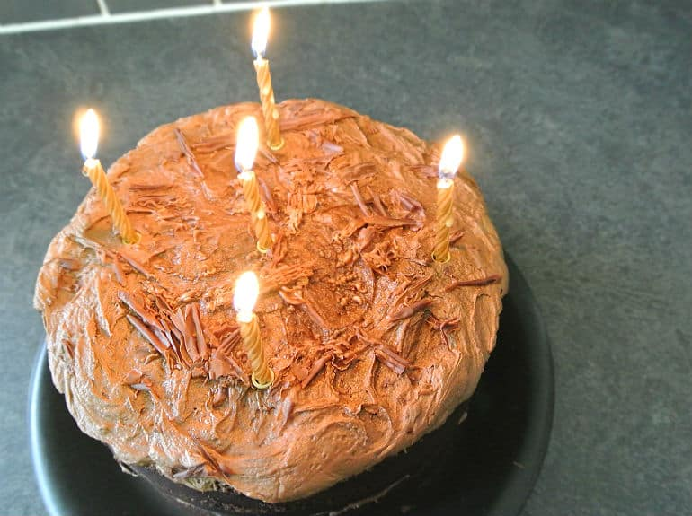 Devils food cake recipe birthday cake candles