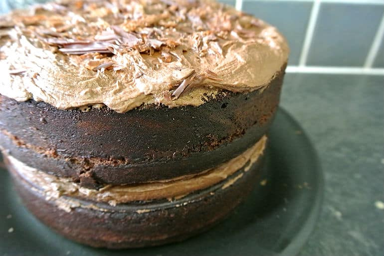 Devils food cake recipe birthday cake