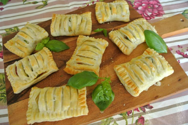 Recipe tricolore pastries