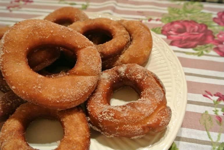 Ring doughnut recipe cinnamon sugar
