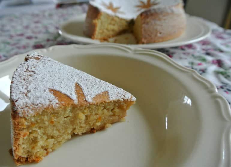 Tarat De Santiago cake recipe slice