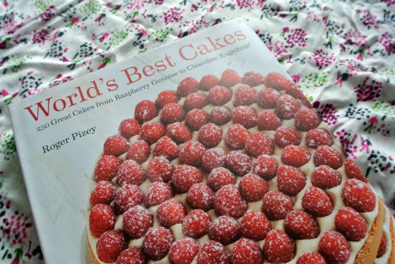 Worlds Best Cakes recipe book tarta de santiago