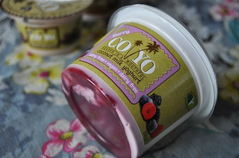coyo coconut yoghurt review berry