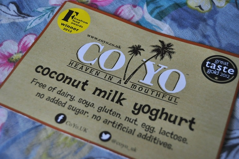 coyo coconut yoghurt review ingredients