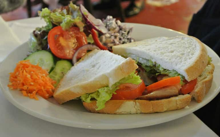Bridge tea room Bradford on Avon review BLT
