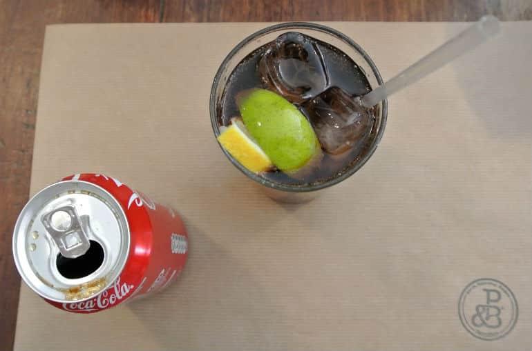 Patty & Bun burger review London St James coke