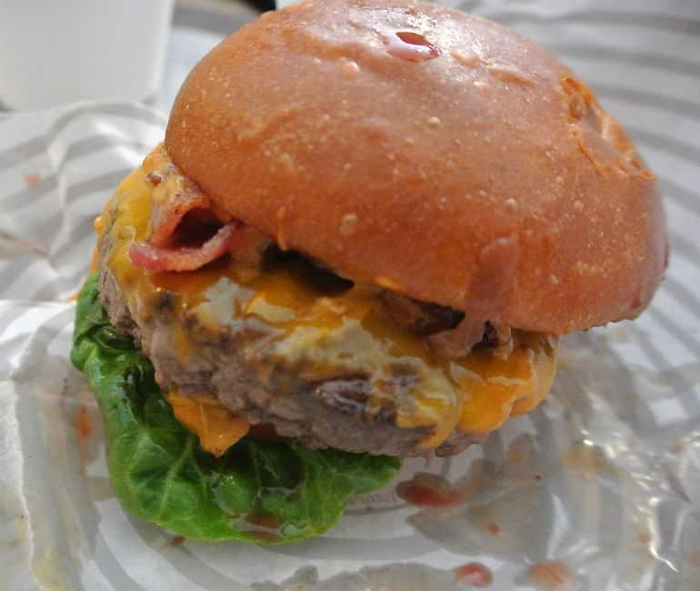 Patty & Bun burger review London St James smoky Robinson cheese burger