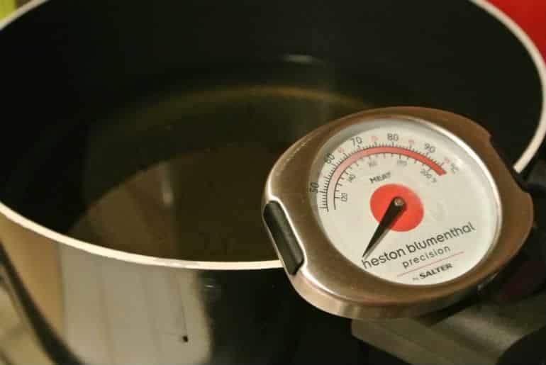 Ring doughnut recipe oil temperature