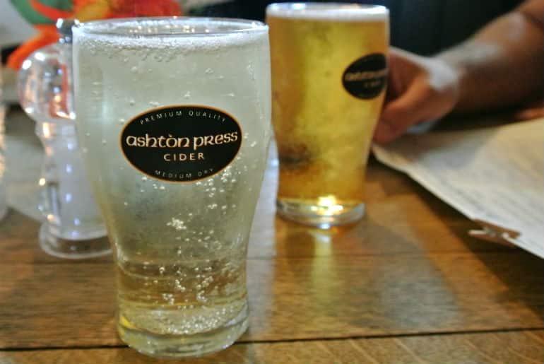 Tollgate Inn Holt review Ashton press cider