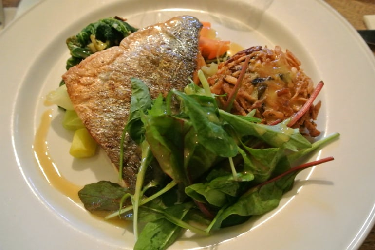 Tollgate Inn Holt review catch of the day