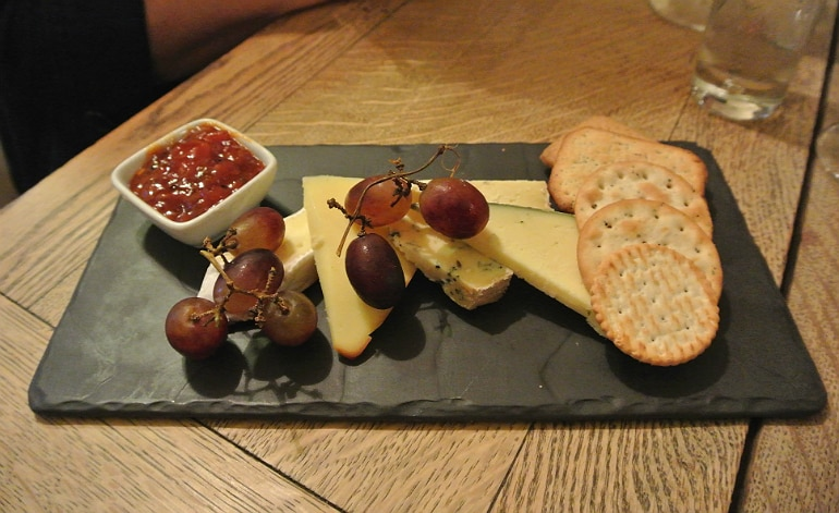 Tollgate Inn Holt review cheeseboard