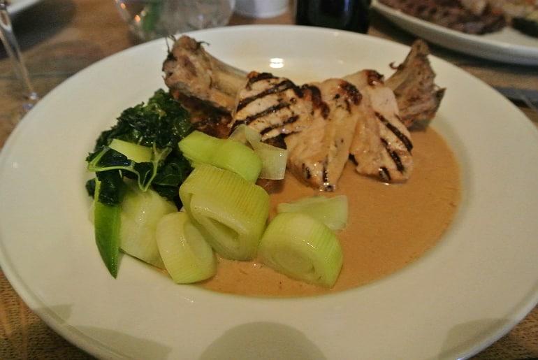 Tollgate Inn Holt review pork main meal