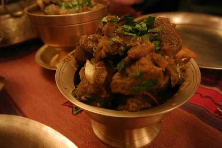 Yak Yeti Yak Bath Nepalese restaurant review goat curry