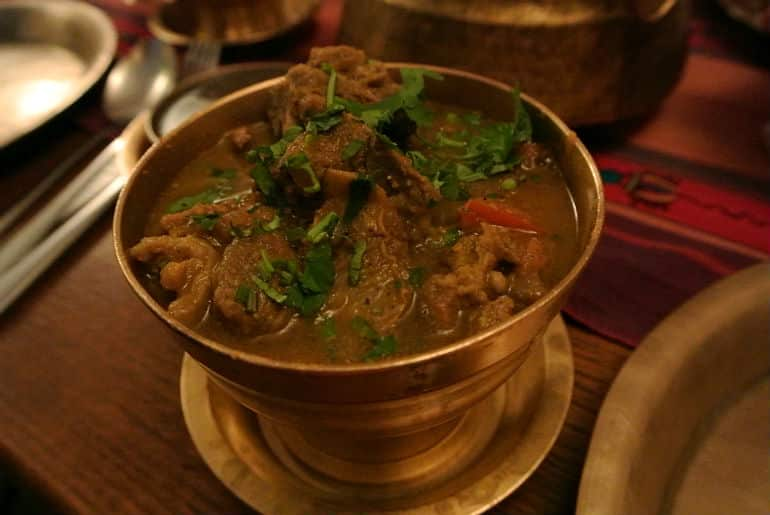 Yak Yeti Yak Bath Nepalese restaurant review pork spinach curry