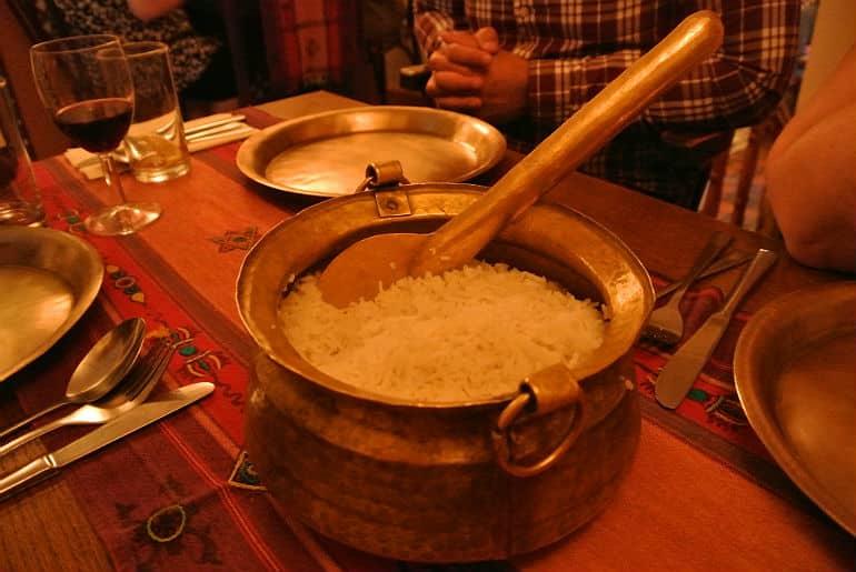 Yak Yeti Yak Bath Nepalese restaurant review rice