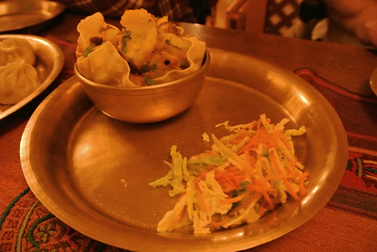 Yak Yeti Yak Bath Nepalese restaurant review salad